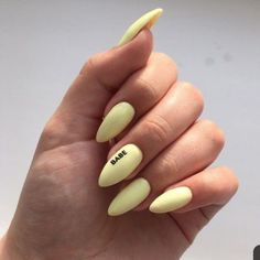 2019 is the most worthy of the exquisite nail art idea - Page 87 of 114 - Inspiration Diary Nails Id Best Acrylic Nails, Summer Acrylic Nails, Pastel Nails, Yellow Nails, Edgy Nails, Stylish Nails, Grunge Nails, Nail Swag, Fire Nails