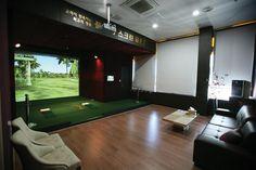 Full Swing Golf: Indoor Golf Simulator Technology Images