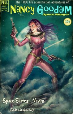 Nancy Goodaim Space Ranger by Aly Fell