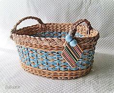 Поделка изделие Плетение опять плету Трубочки бумажные фото 1