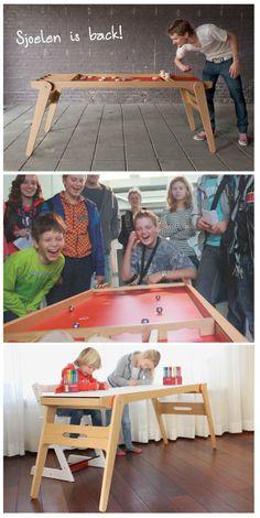 Dutch Design - Sjoeltafel voor kinderen - Moodkids