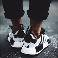 Adidas by White Mountaineering NMD Trail Primeknit Boost #Adidas #nmd #adidasmountaineeringsneakers #whitemountaineering #softlining #adidasnmd #blackandwhiteday #blackandwhitefashion #adidasboost #streetwear #menswear #like #follow #follow4follow