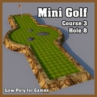 Low Poly Mini Golf Hole Model available on Turbo Squid, the world's leading provider of digital models for visualization, films, television, and games. Mini Golf Near Me, Putt Putt Golf, Golf Handicap, Golf Bags For Sale, Golf Tips Driving, Crazy Golf, Miniature Golf, Golf Putters, Backyard Games