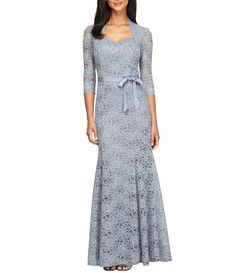 Alex Evenings Lace Sweetheart Gown
