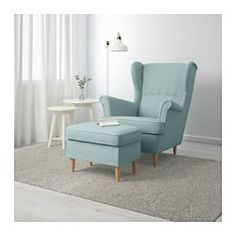 IKEA offers everything from living room furniture to mattresses and bedroom furniture so that you can design your life at home. Check out our furniture and home furnishings! Strandmon Ikea, Living Room Chairs, Living Room Decor, Sofa Design, Interior Design, Ikea Usa, Wing Chair, Apartment Furniture, Affordable Furniture