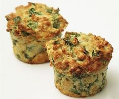 Spicy spinach muffins is a recipe with fresh ingredients from the muffin category. Try this and other recipes from EAT SMARTER! Low Gi Breakfasts, Low Gi Snacks, Healthy Snacks, Low Gi Diet, Low Gi Foods, Veggie Muffins, Healthy Muffins, Corn Muffins, Breakfast Options