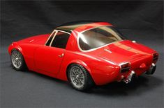 Toyota Sports 800 model car