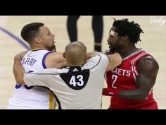 da950129073 Patrick Beverley fights Lebron James Curry Westbrook Wade