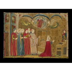 Panel Museum, Rooms, Metal, Painting, Collection, Medieval Embroidery, Bedrooms, Painting Art, Metals