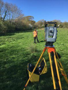 Adam Wallace - land + utility surveyor | taking integrated surveying  by Trimble and applying it to a site down in sunny Devon, UK.   #S7 & #R10