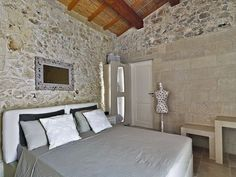 The Relais Masseria Capasa Hotel was completed in 2013 by the Porto Viro based designer Paolo Fracasso. This beautifully styled hotel was built with natural Italy House, House Design, House, Interior Decorating, Interior, Interior Architecture, Mediterranean Homes, Modern Bedroom, Interior Design Bedroom