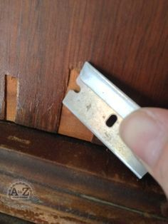 Repairing Damaged Veneer: finally a pin that is truly helpful!!