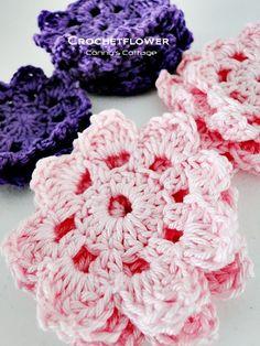 Tutorial Crochetflower