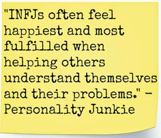 infj facts | When we have many relationships in our lives, we can become easily ...