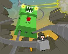 Robot of Doom by radhotrobot