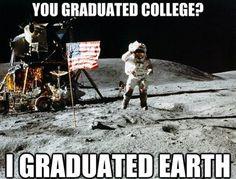 Unimpressed astronaut meme