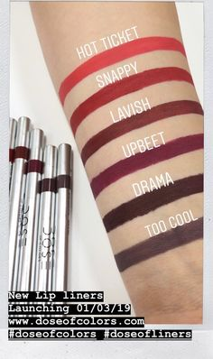 Lip Liner by Dose of Colors #17