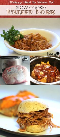 Slow Cooker Pulled Pork - 25 Recipes for Large Groups on a Budget
