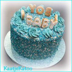 Baby boy taart Birthday Cake, Desserts, Food, Tailgate Desserts, Birthday Cakes, Deserts, Eten, Postres, Dessert