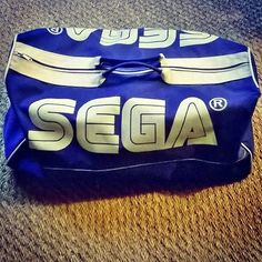 Shared by segawhisperer #gamegear #microhobbit (o) http://ift.tt/1RNcLds from @stonyo_ -  My original SEGA bag from 1989!! #セガ #マスターシステム #メガドライブ #セガサターン #ゲームギア #ドリームキャスト #MasterSystem #MegaDrive #GameGear #Saturn #Dreamcast #SEGA #ServiceGames #Japan #Bag #1989 #France #Retrocollective #Retrocollectiveus #Igerssega_ #Igerssega #Retrogaming #Retrogames #Retrogamer #Retrobag #SegaCollection #SegaRetro #SegaLogo #Segafan #Segaforever