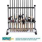 KastKing® 24-rod Portable Fishing Rod Rack Aluminum Fishing Rod Holder Rod Stand