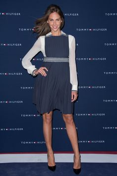 Ophelie Meunier at the #TommyParis store opening