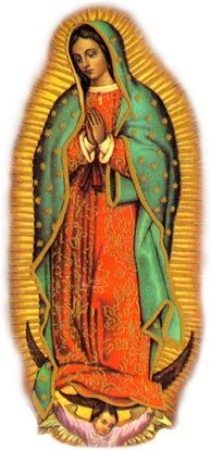 Our Lady of Guadalupe. Our Lady of Guadalupe appeared to Juan Diego in December, 1531 and asked that a shrine be built in her honor. She has become the patroness of the Americas. Religious Pictures, Religious Icons, Religious Art, Madonna, Blessed Mother Mary, Blessed Virgin Mary, Divine Mother, Catholic Online, Religion Catolica