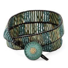 Teal Tourmaline Bracelet | Fusion Beads Inspiration Gallery