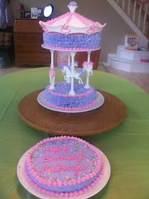 Carousel Cake. So sweet, but would I even dare?