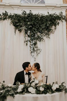Wedding couple table - If The Estate on Second Doesn't Make You Fall in Love, This Couple's Unique Unity Ceremony Will – Wedding couple table Wedding Ceremony Ideas, Unity Ceremony, Wedding Table, Ceremony Backdrop, Wedding Receptions, Cheap Wedding Flowers, Floral Wedding, Wedding Colors, Elegant Wedding