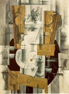 Georges Braque (May 1882 – August was a well-known who, alongside Pablo Picasso, pioneered the art style known as Cubism. Pablo Picasso, Picasso And Braque, Rene Magritte, Georges Braque Cubism, Synthetic Cubism, Georges Pompidou, Pompidou Paris, Art Moderne, Art Deco Jewelry