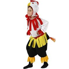 Disfraz de Gallo Peleon  #infantil #disfraces