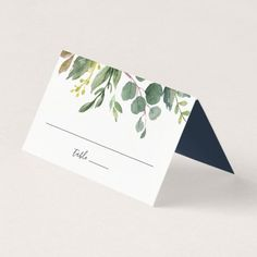 Wedding Gifts Diy Eucalyptus Grove Wedding Place Card - elegant wedding gifts diy accessories ideas - Shop Eucalyptus Grove Wedding Place Card created by RedwoodAndVine. Personalize it with photos Wedding Details Card, Wedding Cards, Wedding Gifts, Wedding Invitations, Invites, Wedding Stationery, Greenery Day, Name Place Cards, Wedding Silhouette