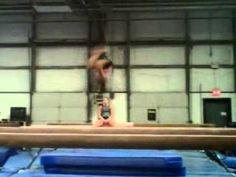 ▶ Faith Morrison - FF + back tuck on beam - YouTube