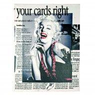 Tablou Marilyn. Print pe panza.Trademan Suedia Your Cards, Books, Art, Art Background, Libros, Book, Kunst, Performing Arts, Book Illustrations