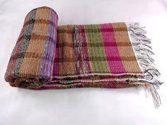 Hand Loom Chindi Carpet Rag Rug Floor Yoga Mat Indian Eco Beach Kilim Throw W047 #Unbranded #RagRug