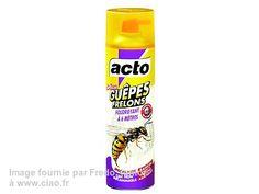 Avis sur le produit insecticide Acto Insecticide Nids Guêpes & Frelons par Fredo_junior