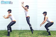 Fit Fast Get Hoppin' - Fat Blasting, 25-minutes, Do It Anywhere!