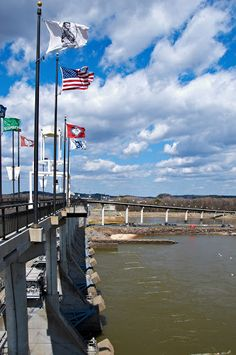 Big Dam Bridge. Little Rock, Arkansas.