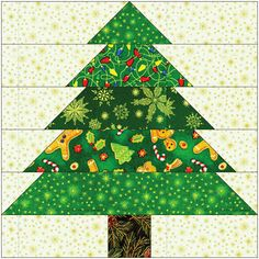 It's both the sentiment for this time of year and the name of one of our Christmas collections. We're in the holiday mood, so we though. Christmas Tree Quilt Block Patterns, Christmas Patchwork, Christmas Blocks, Christmas Pillow, Tree Patterns, Christmas Sewing Projects, Christmas Crafts, Christmas Christmas, Vintage Christmas
