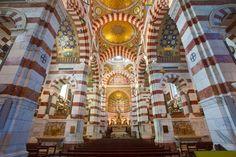 The altar of Notre Dame de La Garde,  Marseille Altar, Big Ben, Trip Advisor, Dame, Traveling, Places, Viajes, Trips, Travel