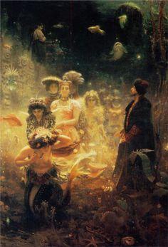 Sadko — Ilya Repin (1876)
