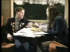 """University challenge"" (The Young Ones train station scene with Motorhead)  ""Don't get uncool and heavy"""