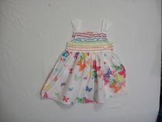 KOALA BABY GIRL SIZE 12 MONTHS DRESS MULTI-COLOR SUMMER EVERYDAY 100% COTTON #KoalaBaby