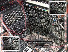 moog modular synthesizer system modules 902 ,903A,904 (a/b/c),921 ...