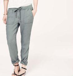 Lou & Grey Linen Drawstring Pants | Loft