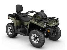 New 2016 Can-Am Outlander L MAX DPS 570 Green ATVs For Sale in Wisconsin. 2016 Can-Am Outlander L MAX DPS 570 Green, Raise your expectations, not your price range. Get the all-terrain performance you'd expect from Can-Am at the most accessible price ever. A more comfortable two-up riding experience that simply and quickly converts to a one-up. With the added comfort of Tri-Mode Dynamic Power Steering (DPS).