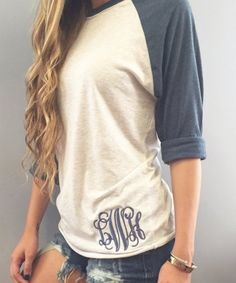 Stylish Round Neck Long Sleeve Letter Embroidery Women's T-Shirt