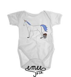 Unicorn Bucket baby girl clothes baby boy clothes