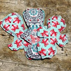 Just love #fox and #butterfly prints atm. #timeofthemonth #fun #NoobyNoo #handmadewithlove #csp #clothpads #clothmenstrualpads #zerowaste #recycle #woodland #prettyperiod #wahm #sewing #protecttheenvironment #ecofriendly #happy